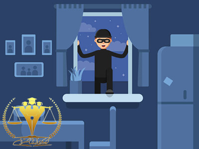 وکیل دادگستری برای شکایت از دزد